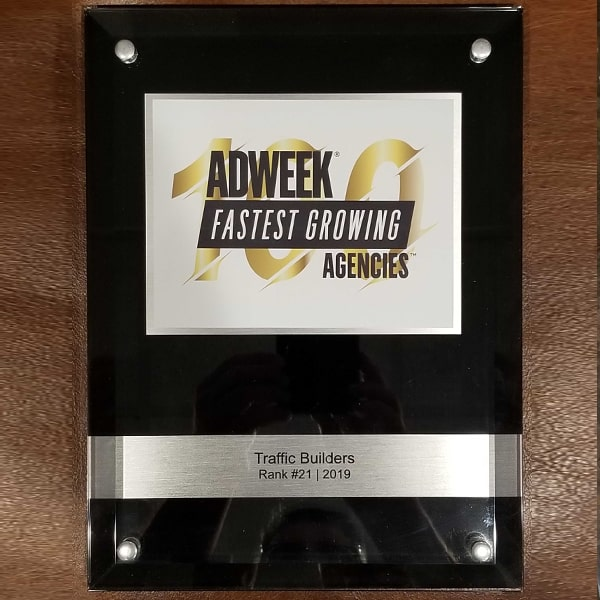 Adweek's 21st Fastest Growing Agency